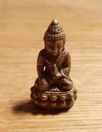 Meine kleine Buddha Statue