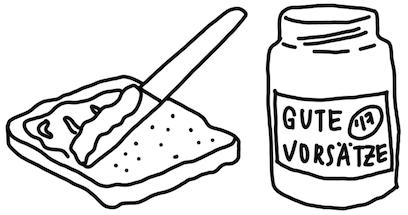 Disziplin lernen - Der Sandwich Trick