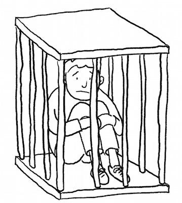 Mangelgefängnis