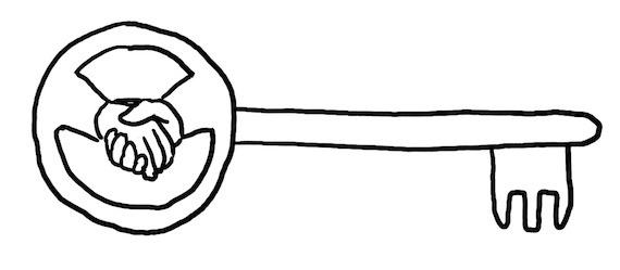 Zufriedenheits-Schlüssel
