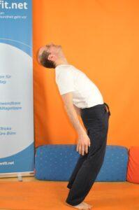 Übung Hans-kuck-in-die-Luft