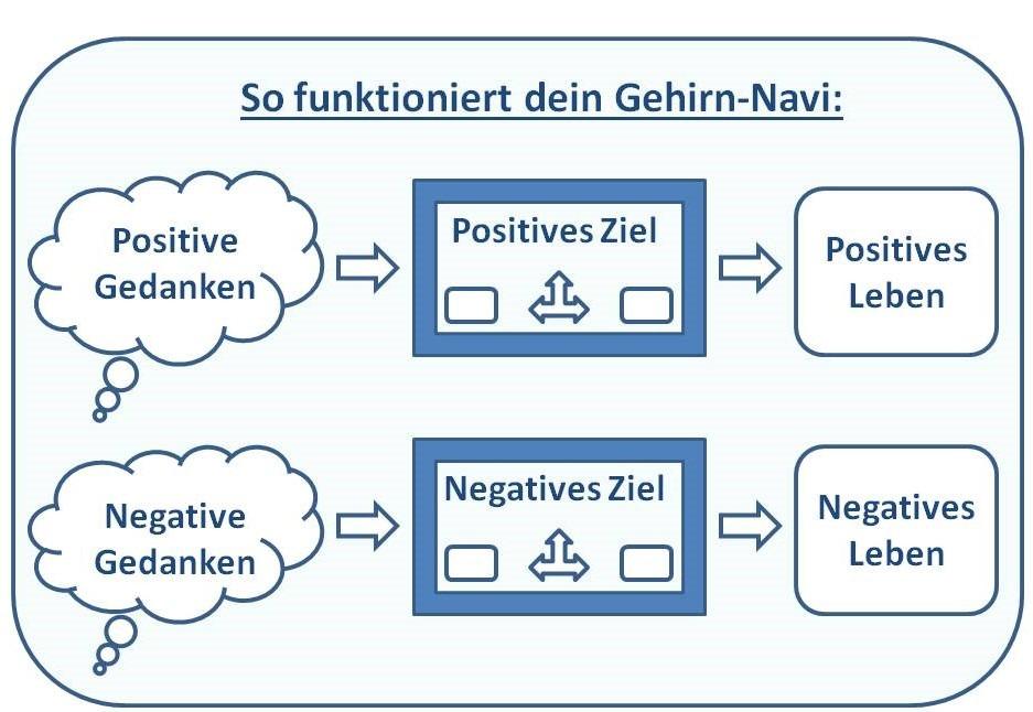 Info-Grafik Wie das Gehirn-Navi funktioniert