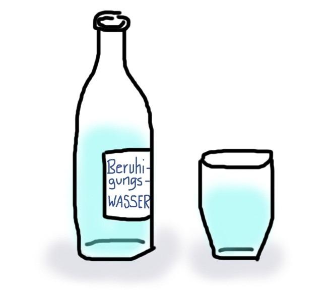 Wasser zur Beruhigung