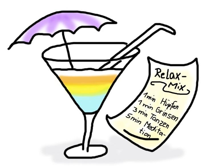 Der Entspannungs-Cocktail