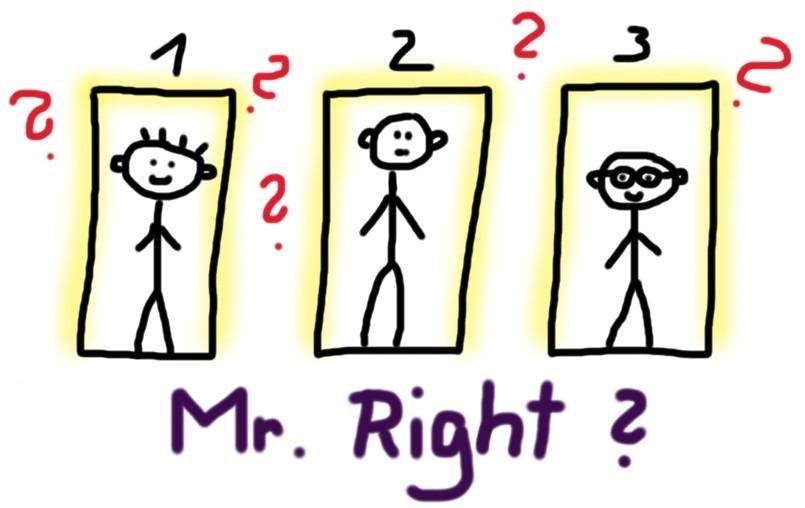 Suche nach Mr. Right _ 3 Türen mit 3 Typen