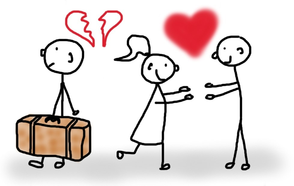 Frau verliebt sich nach Trennung sofort neu